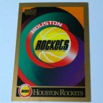 1990-91 SkyBox Houston Rockets Basketball Card #337 Houston Rockets TC